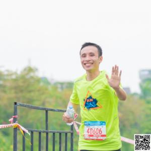 Chạy bộ marathon với Trần Xuân Toàn